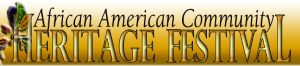 African American Community Heritage Festival logo