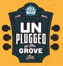 KGSR Unplugged at the Grove logo