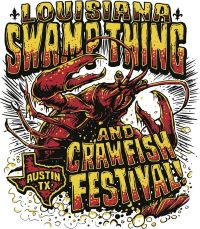 Louisiana Swamp Thing and Crawfish Festival logo