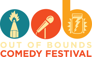 Out of Bounds Comedy Festival logo