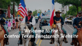 Juneteenth Central TX logo